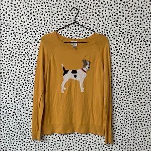 Jack Russel Mustard Puppy Sweater